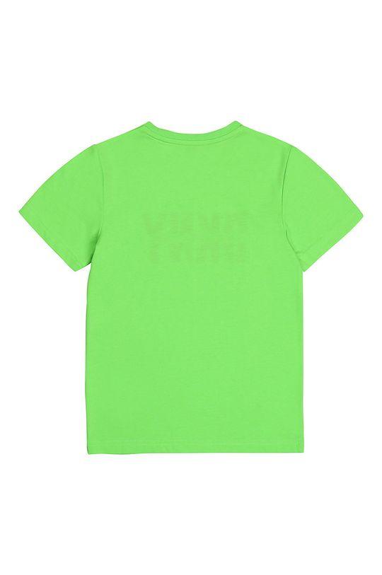 Dkny - Tricou copii galben – verde
