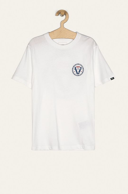 alb Vans - Tricou copii 129-173 cm De băieți