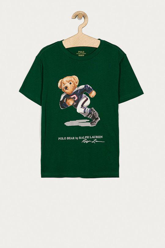 tmavě zelená Polo Ralph Lauren - Dětské tričko 134-176 cm Chlapecký