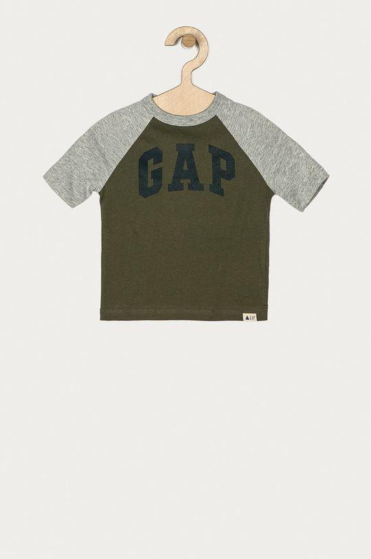 tmavozelená GAP - Detské tričko 74-110 cm Chlapčenský