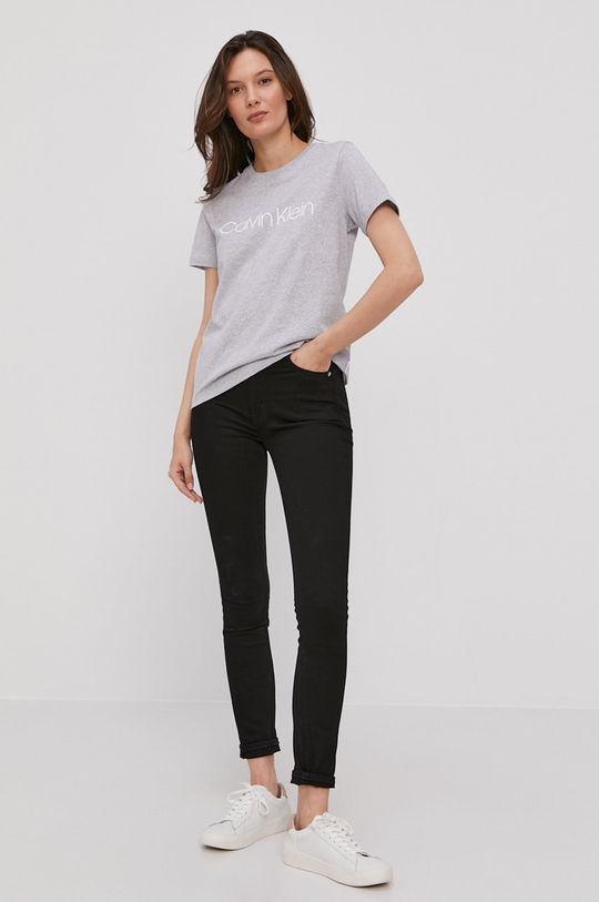 Calvin Klein - T-shirt szary