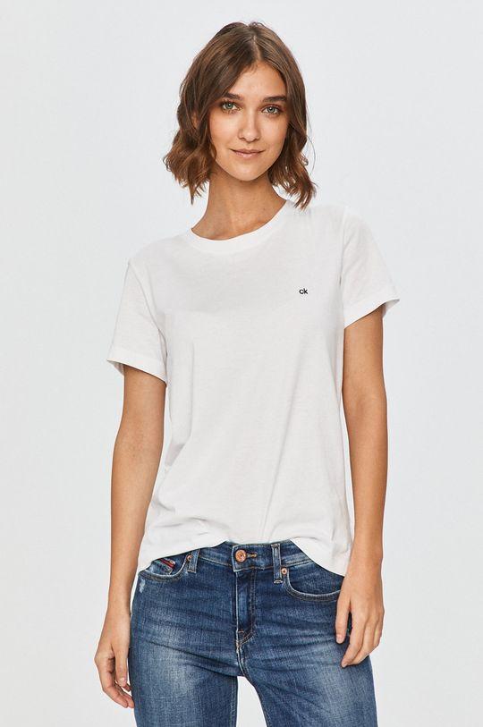 bílá Calvin Klein - Tričko Dámský
