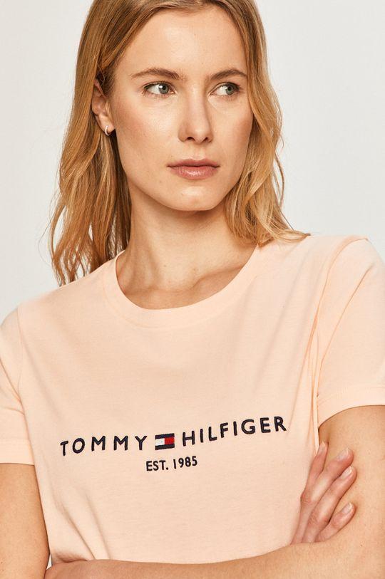 oranžová Tommy Hilfiger - Tričko