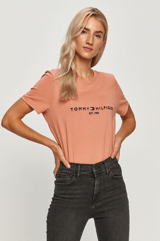 coral Tommy Hilfiger - Tricou De femei