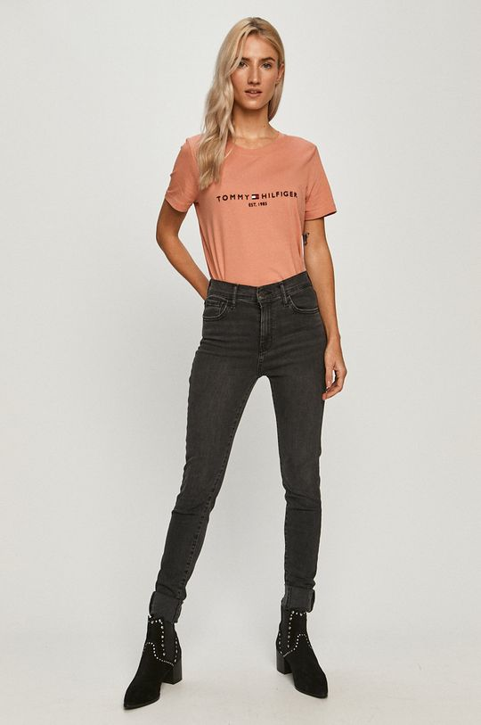 Tommy Hilfiger - Tricou coral