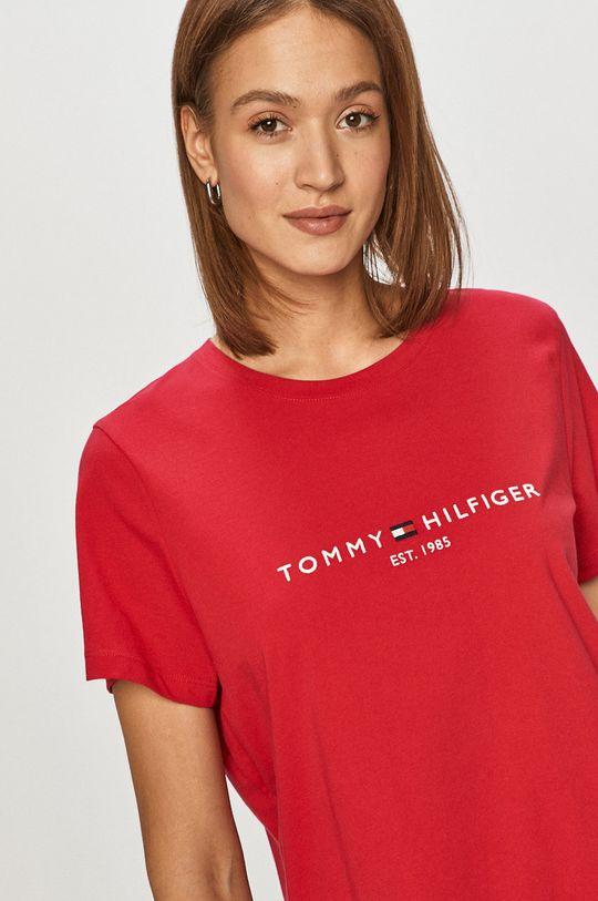 bledofialový Tommy Hilfiger - Tričko