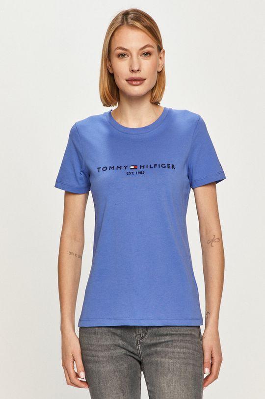 niebieski Tommy Hilfiger - T-shirt