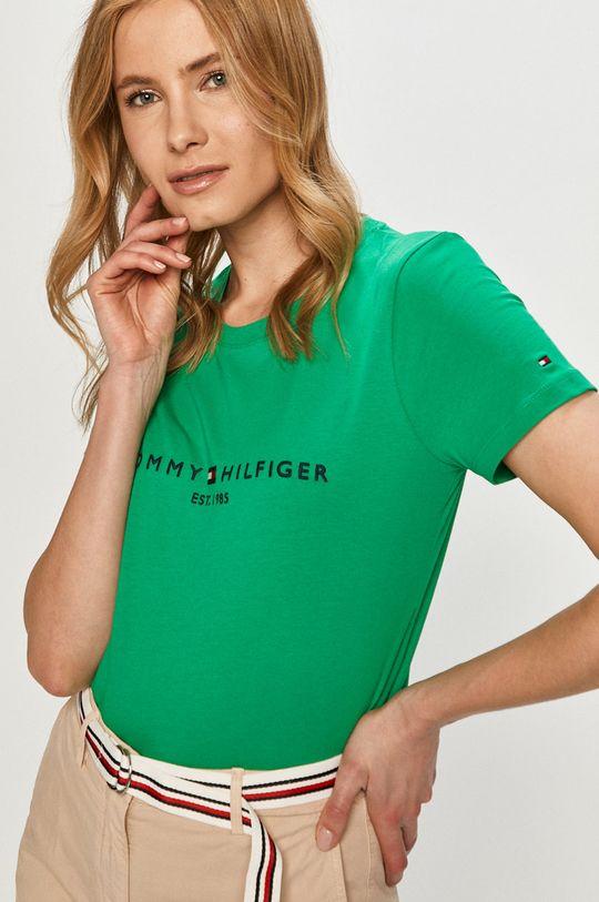 zelená Tommy Hilfiger - Tričko