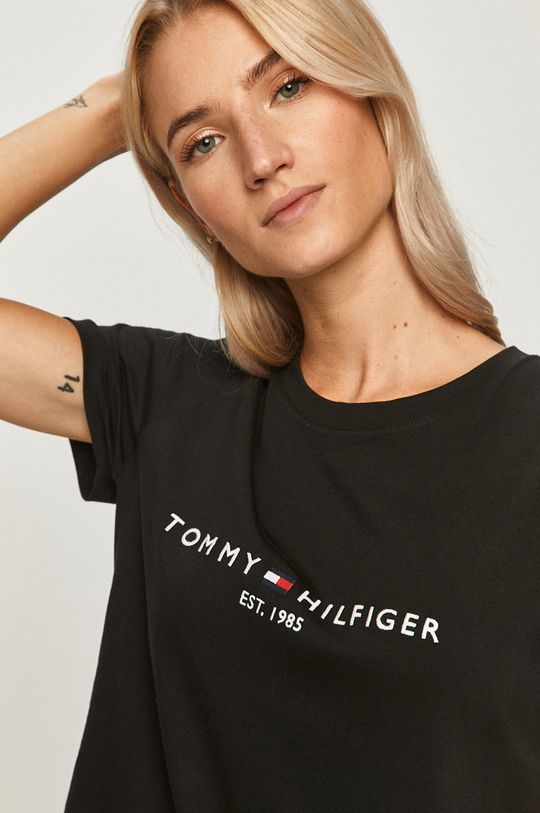 čierna Tommy Hilfiger - Tričko