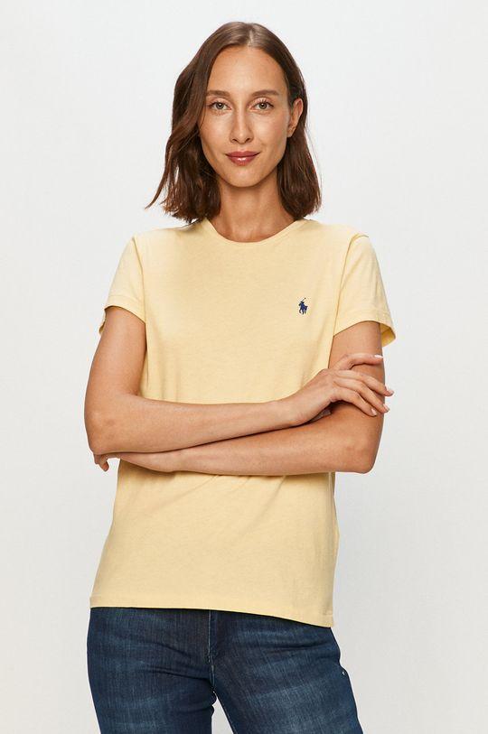 svetlobéžová Polo Ralph Lauren - Tričko Dámsky
