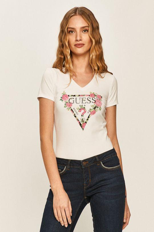 білий Guess Jeans - Футболка Жіночий