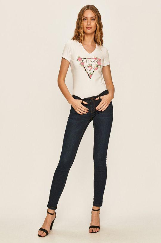 Guess Jeans - Футболка білий