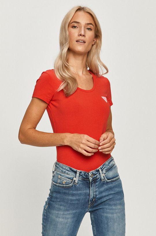 rosu Guess Jeans - Tricou De femei