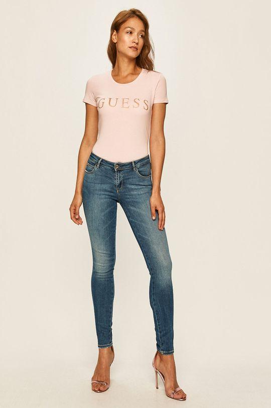 Guess Jeans - Tricou roz
