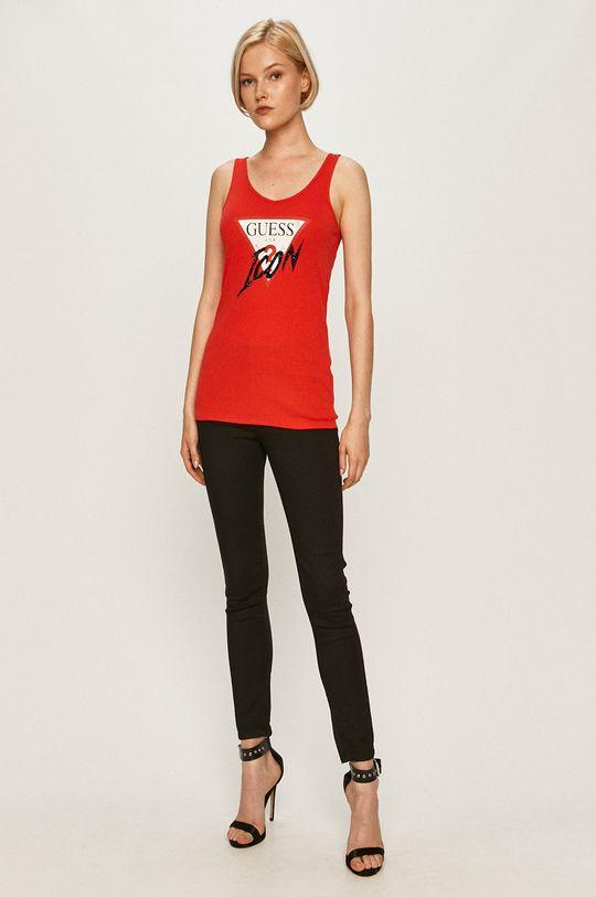 Guess Jeans - Top červená