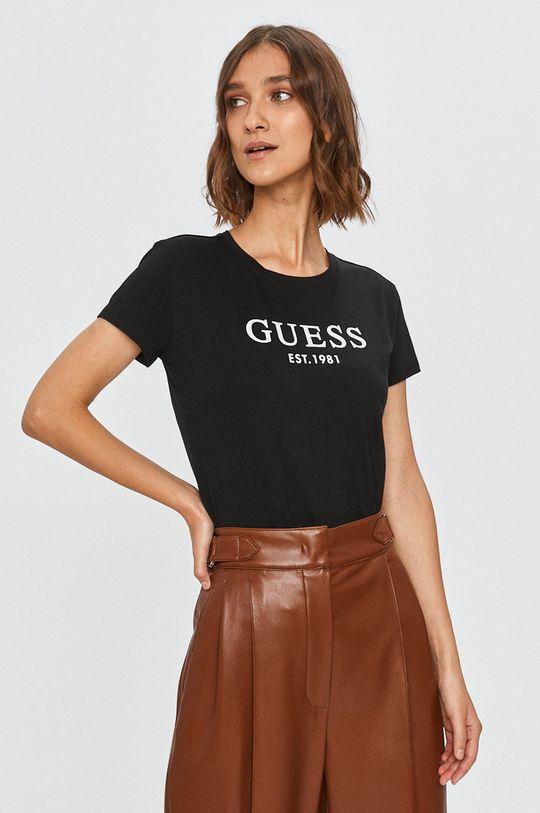 negru Guess Jeans - Tricou De femei