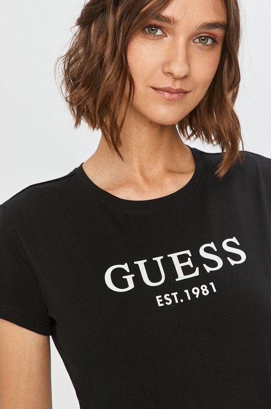 negru Guess Jeans - Tricou