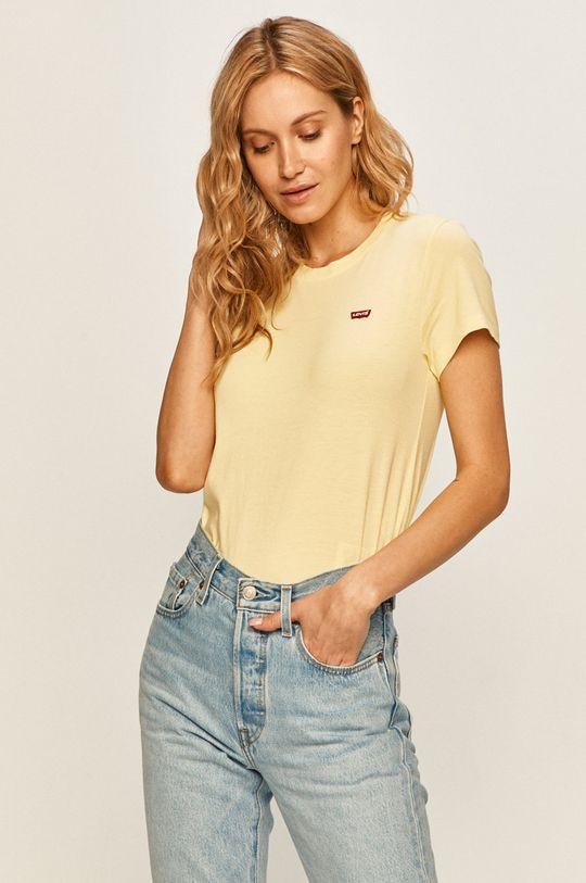 żółty Levi's - T-shirt Damski