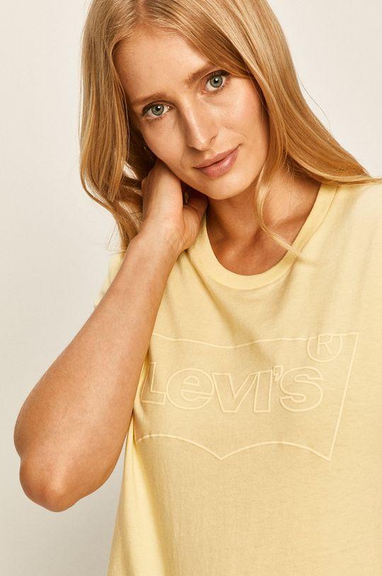jasny żółty Levi's - T-shirt