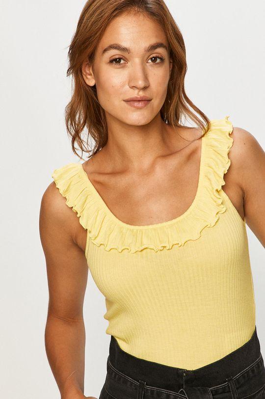 jasny żółty Vero Moda - Top