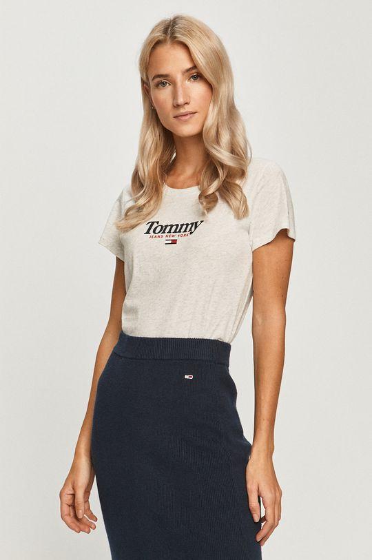 gri deschis Tommy Jeans - Tricou De femei