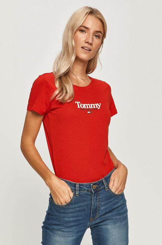 rosu Tommy Jeans - Tricou De femei