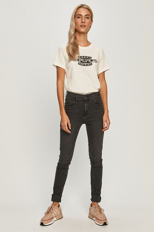 Pepe Jeans - Tričko Margaret bílá