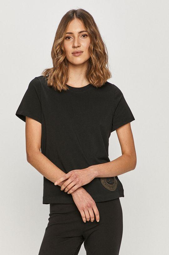 czarny Calvin Klein Underwear - T-shirt Damski