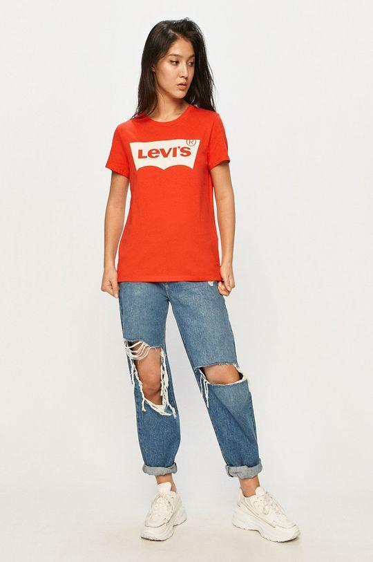 Levi's - Tricou rosu