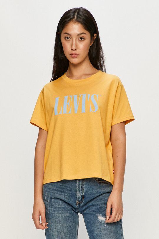 galben Levi's - Tricou De femei