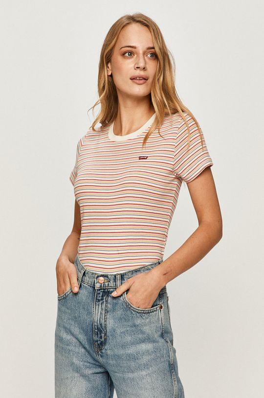 czerwony Levi's - T-shirt Damski