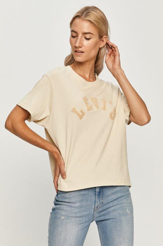 bej Levi's - Tricou De femei