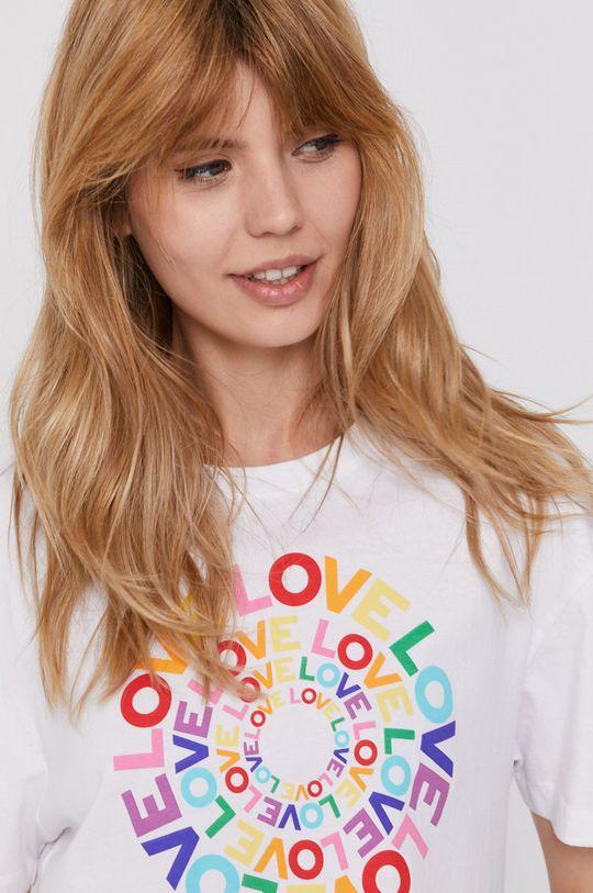 biały Pepe Jeans - T-shirt Marsha Pride