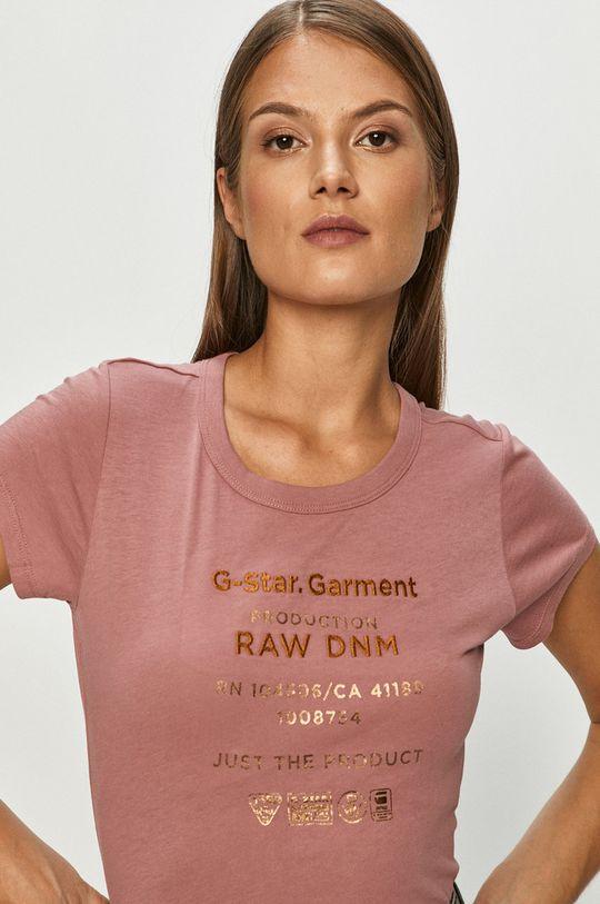 roz G-Star Raw - Tricou