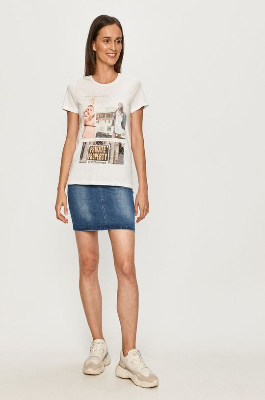 Only - Tricou alb