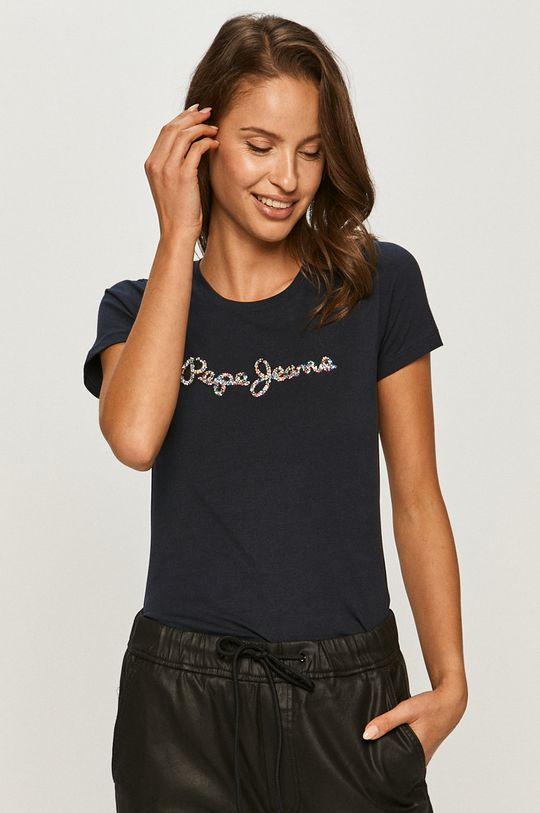 Pepe Jeans - T-shirt Dorita 95 % Bawełna, 5 % Elastan