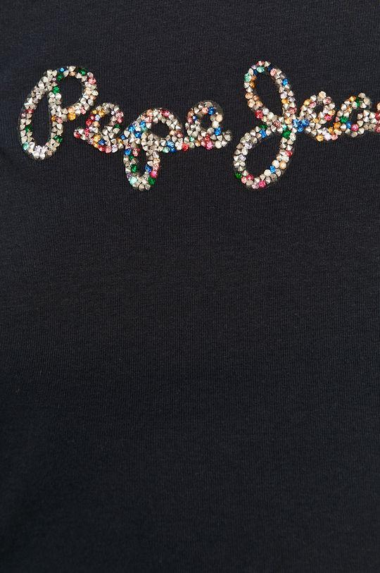 granatowy Pepe Jeans - T-shirt Dorita