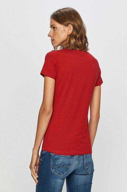 Pepe Jeans - Tricou Virginia  95% Bumbac, 5% Elastan