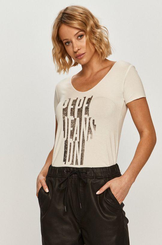 fehér Pepe Jeans - T-shirt Dana Női