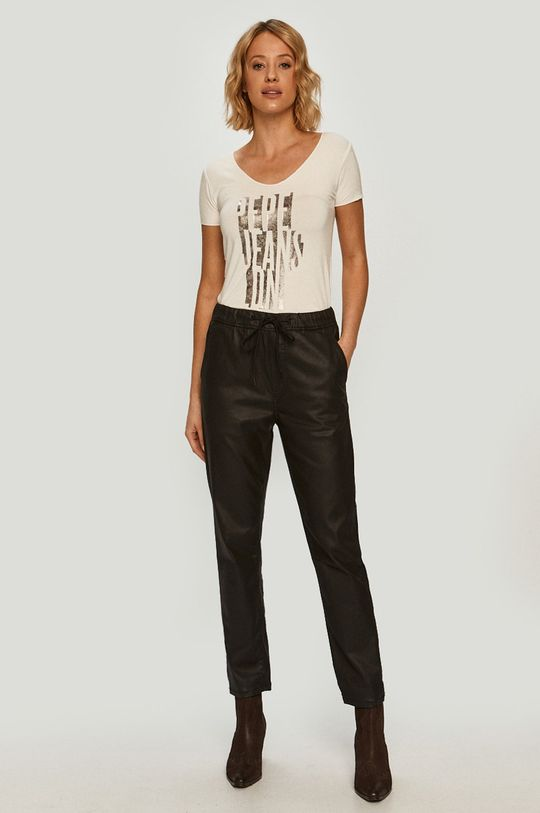 Pepe Jeans - T-shirt Dana fehér