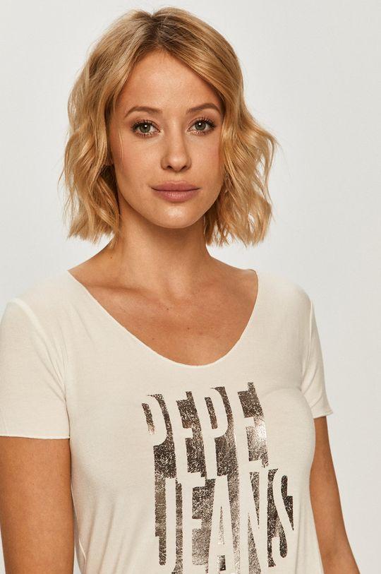fehér Pepe Jeans - T-shirt Dana