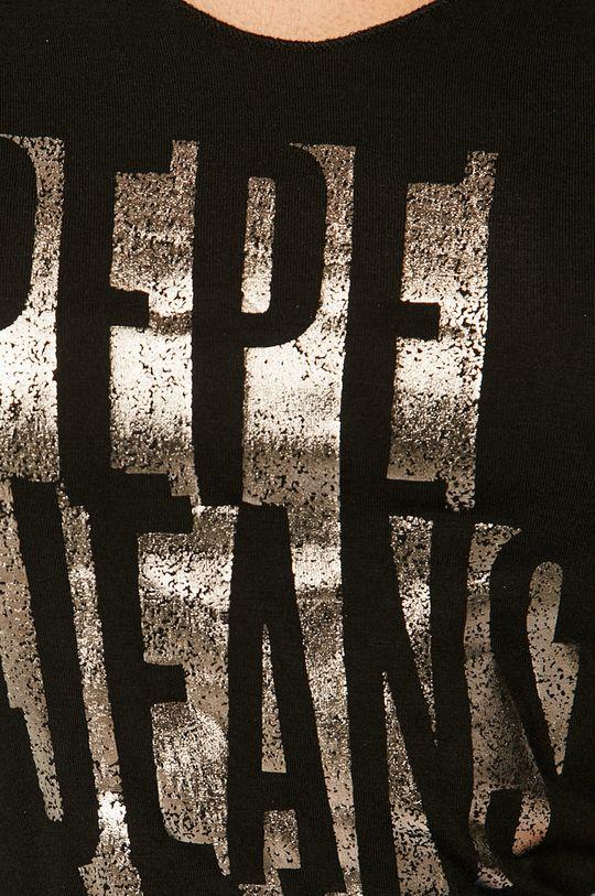 fekete Pepe Jeans - T-shirt Dana