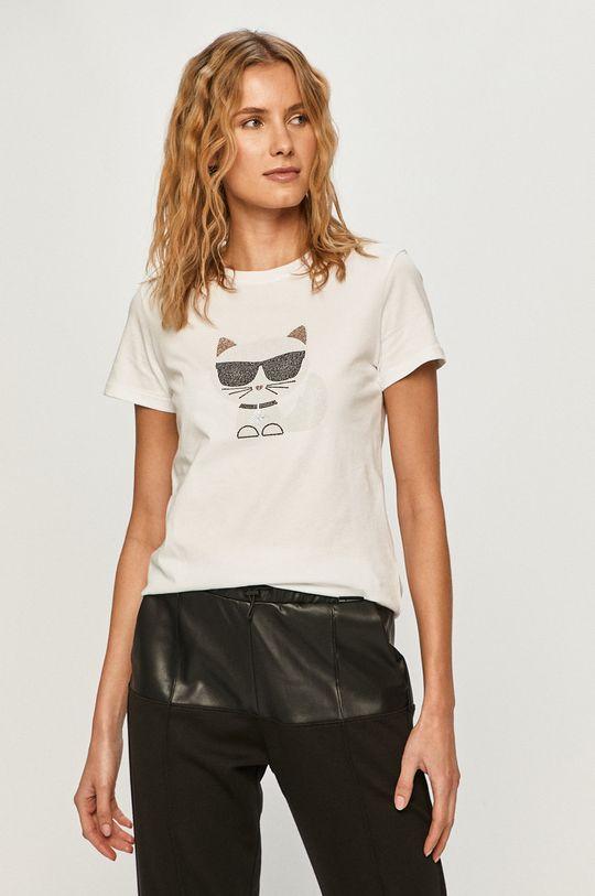 bílá Karl Lagerfeld - Tričko Dámský