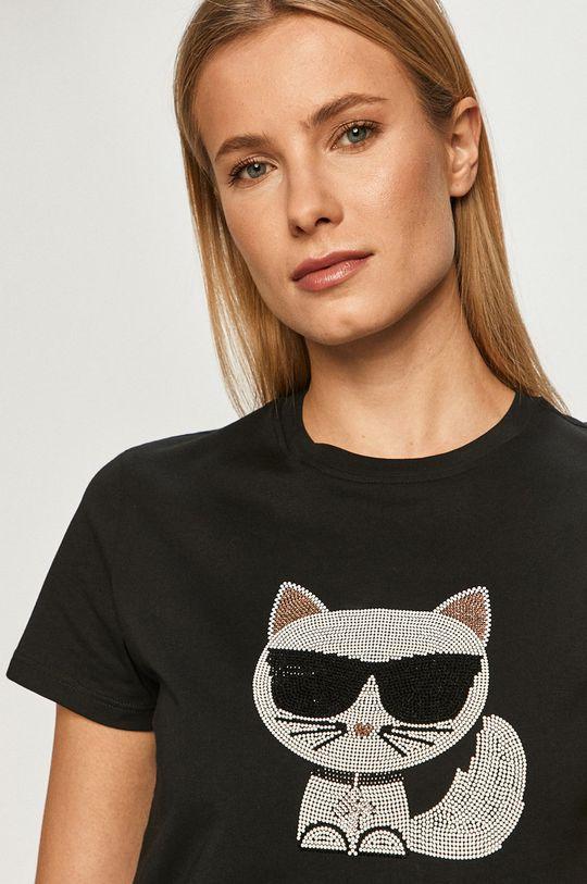 černá Karl Lagerfeld - Tričko