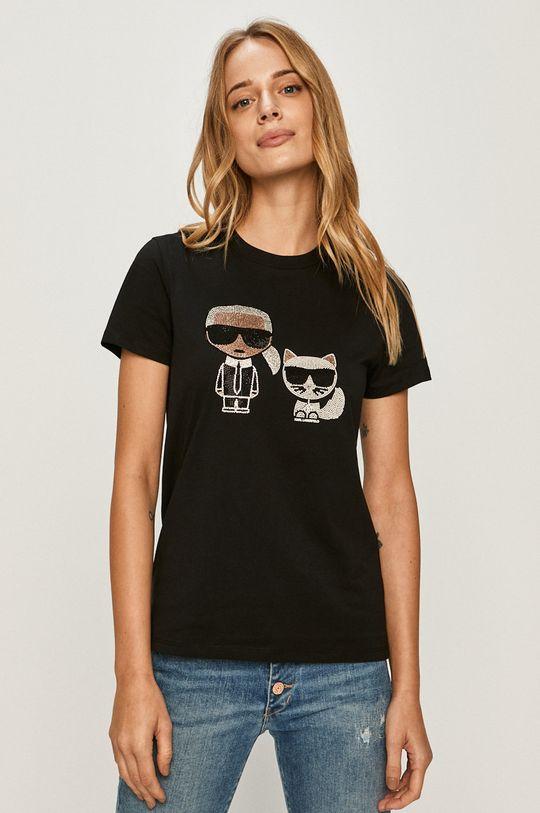 negru Karl Lagerfeld - Tricou De femei