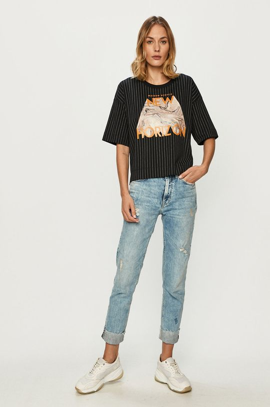 Scotch & Soda - Tricou negru