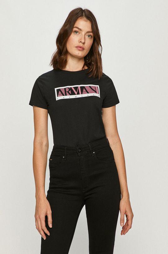 černá Armani Exchange - Tričko