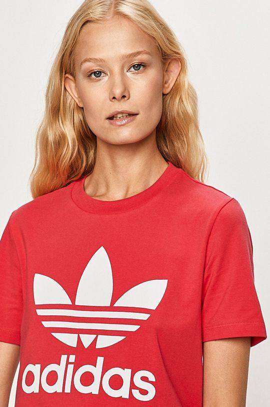 ostrá růžová adidas Originals - Tričko Dámský