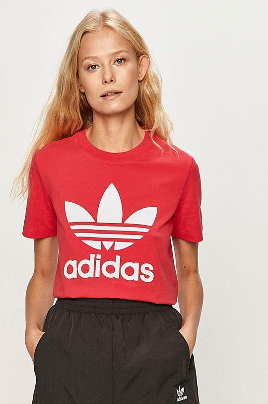 ostrá růžová adidas Originals - Tričko