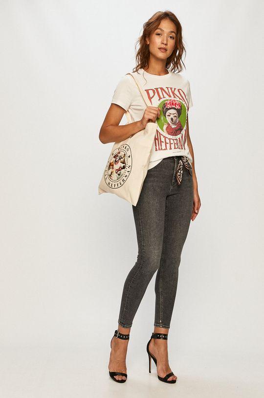 Pinko - Tričko + taška biela